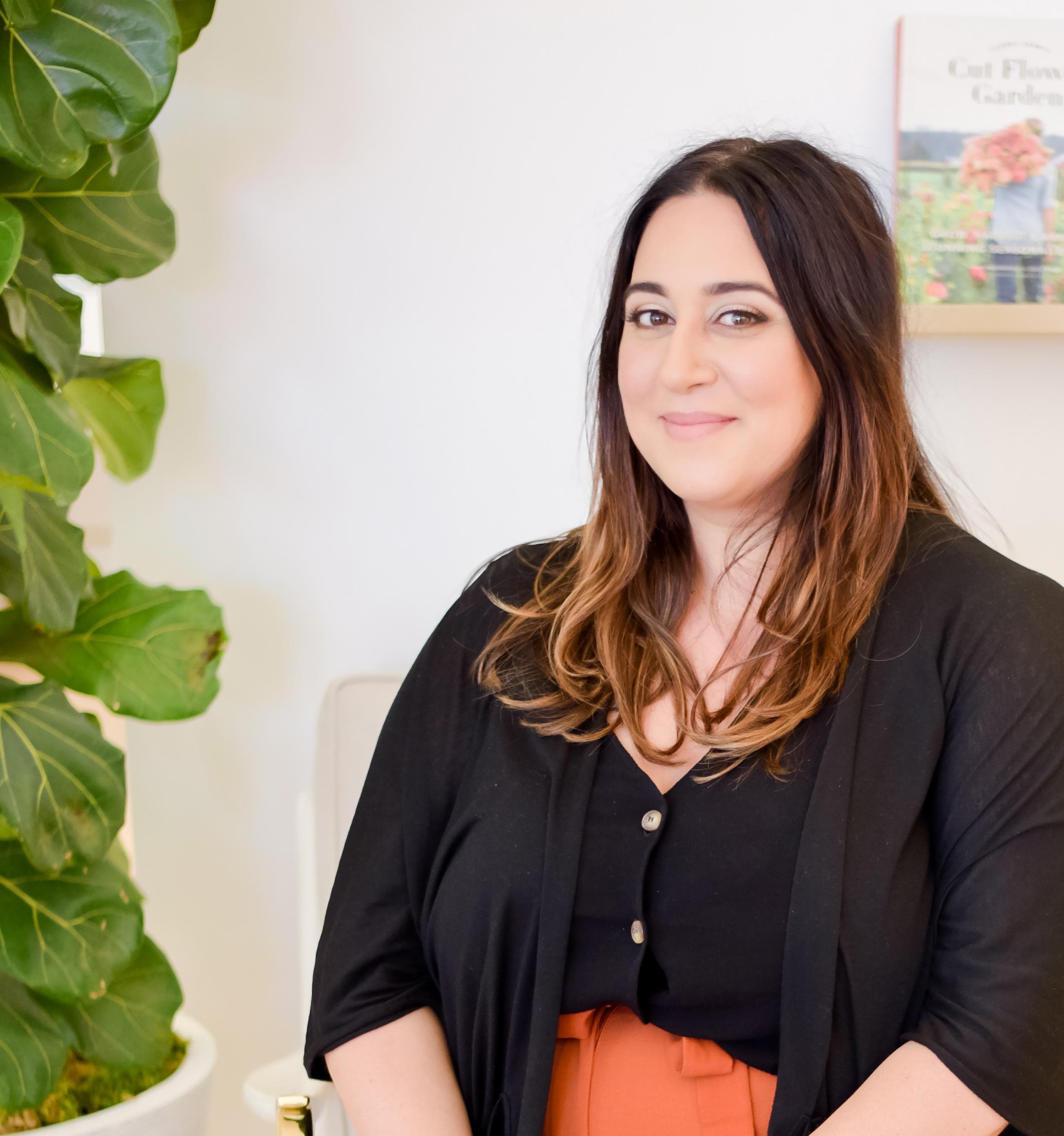 "Sahar Martinez, lmft - therapist + doctoral candidate""In order to nurture those around us, we must first nourish ourselves.""@saharmartinezmft"