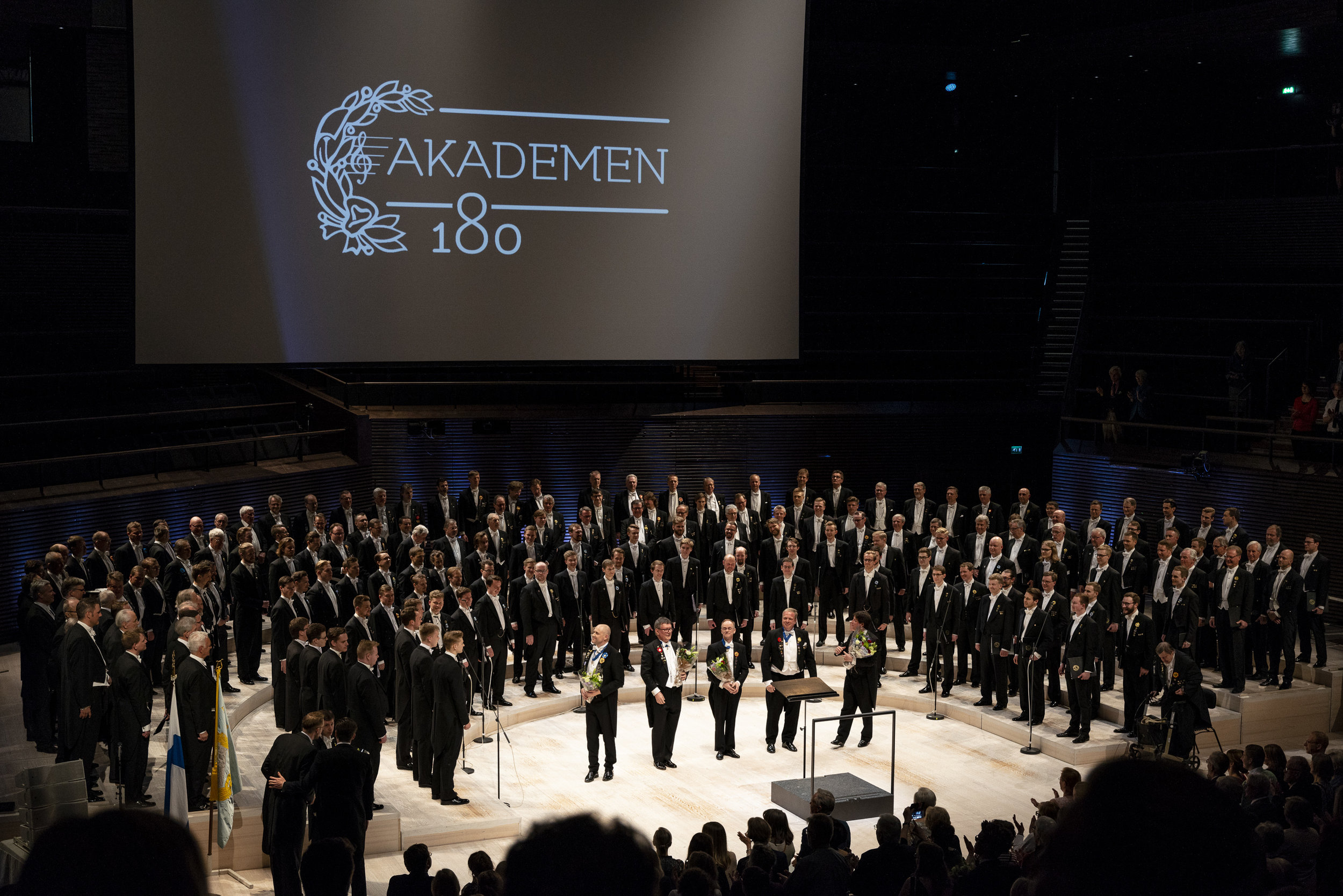 Akademen 180: Jubileumskören, Foto: Niklas Nabb