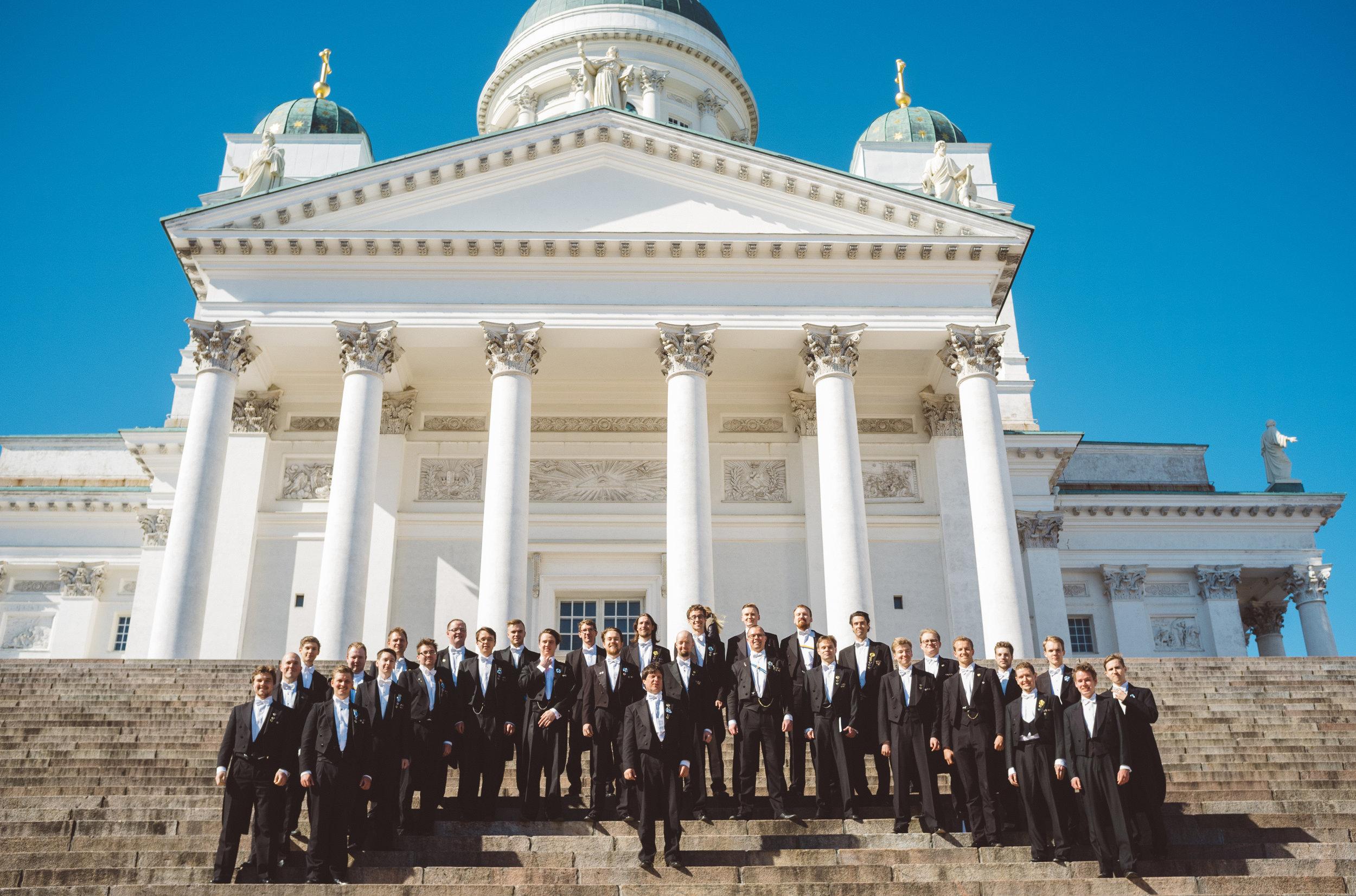 Akademiska Sånföreningen, Foto: Dan Gustafsson