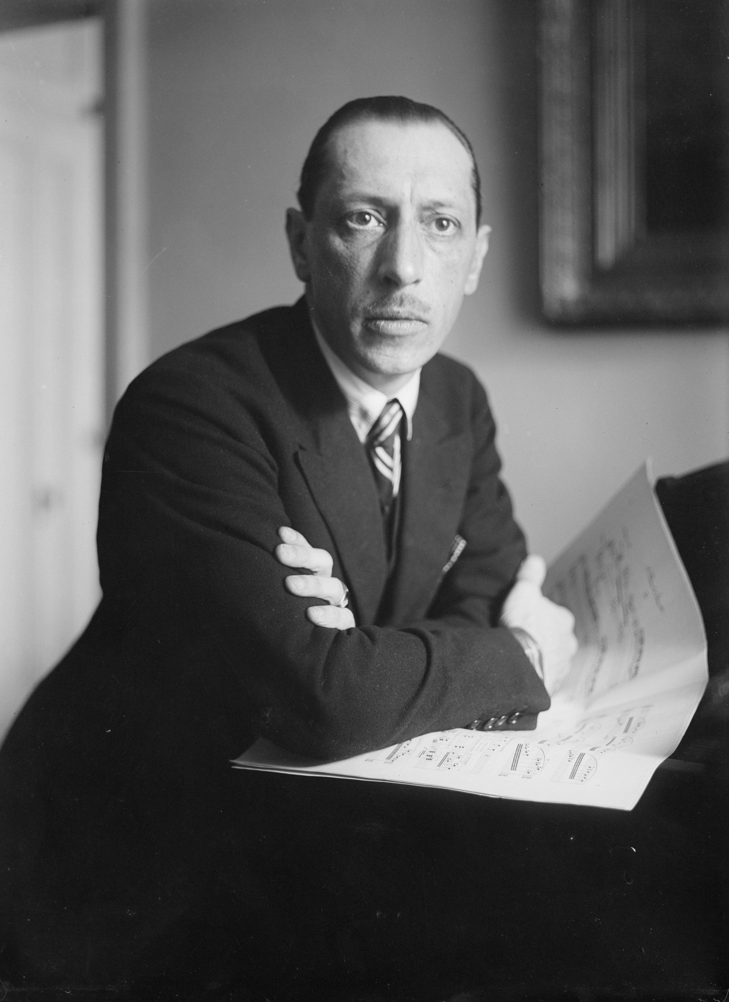 Stravinsky in Black & White -