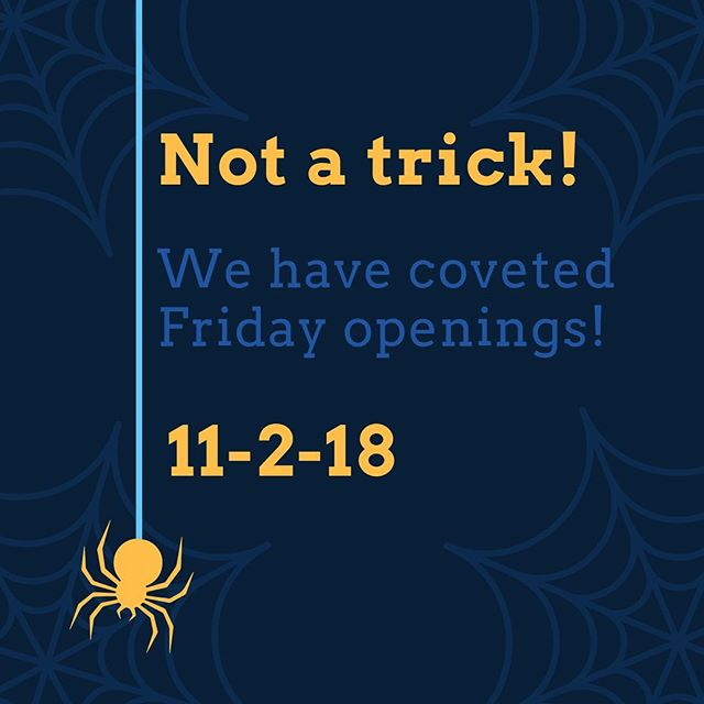 """Come get a treat! The first two people to book on Friday, 11-2-18  AND send me a text saying """"A treat for my eyes"""", will get a free @togospa under eye treatment! This is normally a $10 add on! 🎃Click Book in profile to schedule. 🎃text me at 206-742-6762 . . . #friday #sugaring #halloween #trickortreat #hairremoval #esthetician #togospa #eyetreatment #lastminuteappointment"""