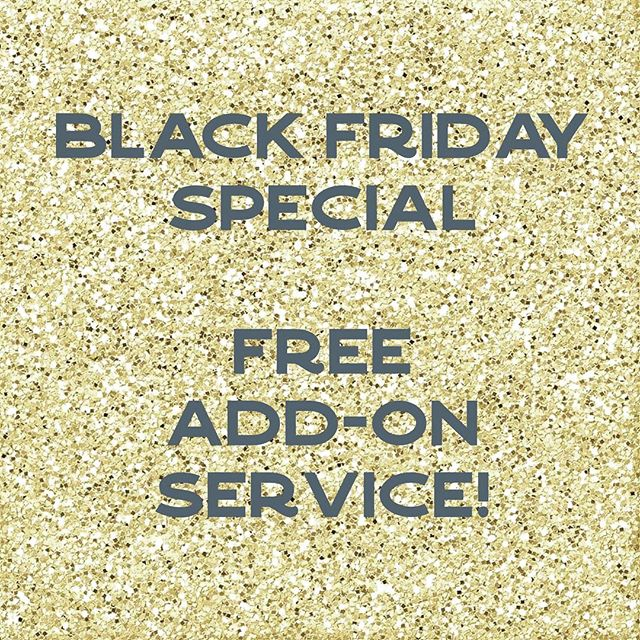 Any appointments on Black  Friday (11/23) will get a Free Add-on service! ⭐️Choose from a warm hand treatment or cool eye treatment! ⭐️Make your choice by picking from the Add-On category when booking. . . . #blackfriday #solasalons #sugaring #esthetician #hairremoval #selfcare #supportsmallbusiness #shoplocal #federalway #brownspoint #auburnwa #desmoineswa #skincare
