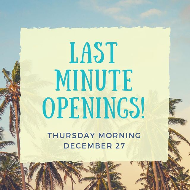 Book now to get your last minute appointments before New Years! . With Friday all booked up, I opened my books for a select few hours. . . . #sugaring #hairremoval #vacation #newyearseve #newyears #welcome2019 #federalway #auburnwa #desmoines #brownspoint #dashpoint #lastminute