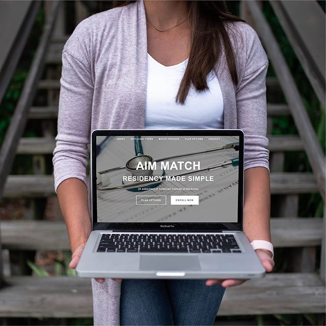 I'm happy to showcase this site I built for @aim.match, a company that helps international medical graduates match into US residency programs. For more info and the live website, click on the link in my bio. #squarespace #squarespacewebdesign #websitedesign #webdesigner #squarespacedesigner #webdesign #webdesigntrends #minimalwebdesign #minimaldesign #medicalwebsite #customwebsite