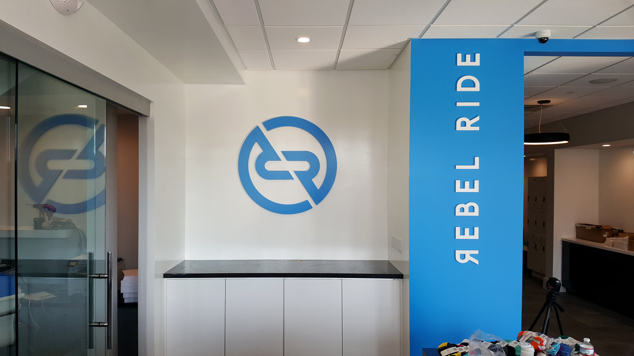 Rebel Ride - Acrylic Display