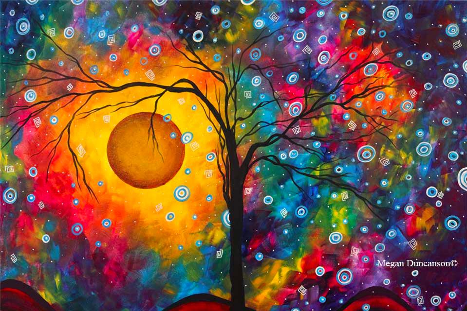 Rainbow Dreams 2 by Megan Duncanson