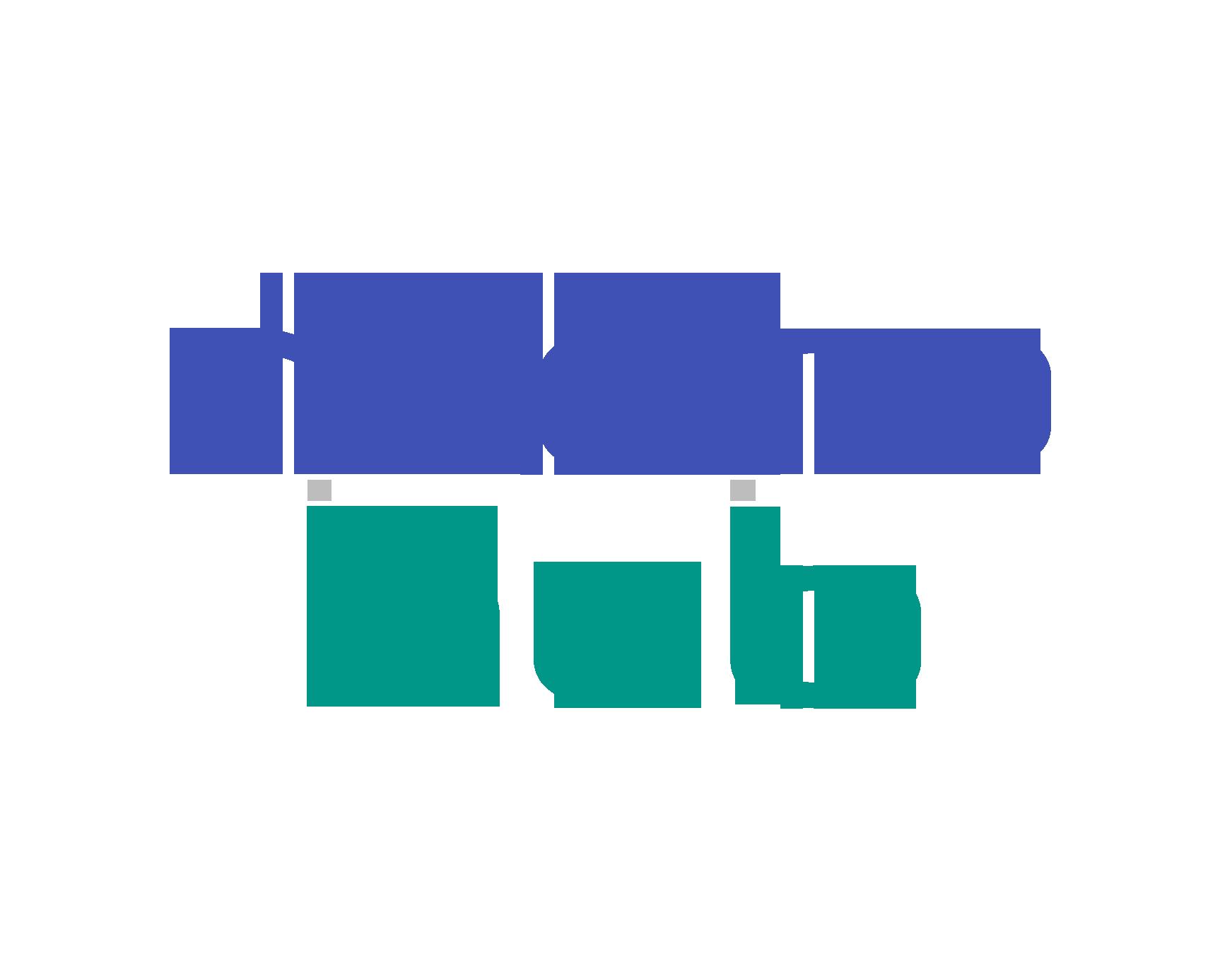 Logo on light