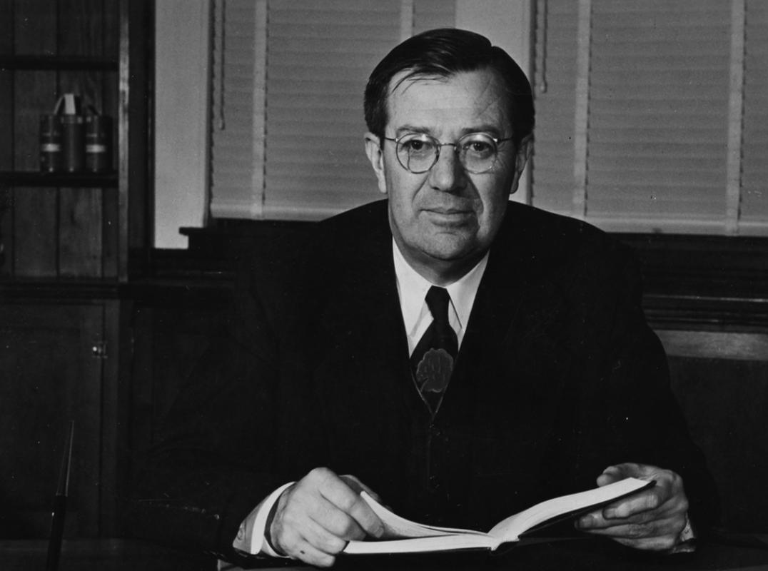 Stanford University Dean of Engineering, Frederick Terman