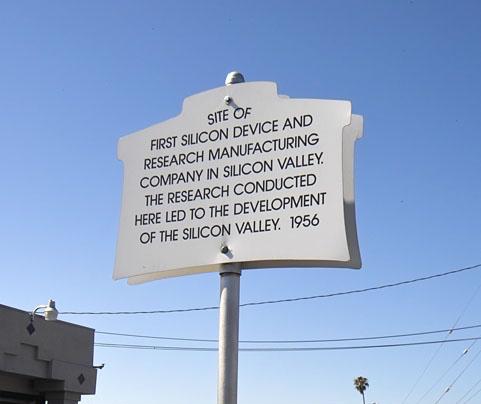 Historical marker, 381 San Antonio Rd., Mountain View, CA