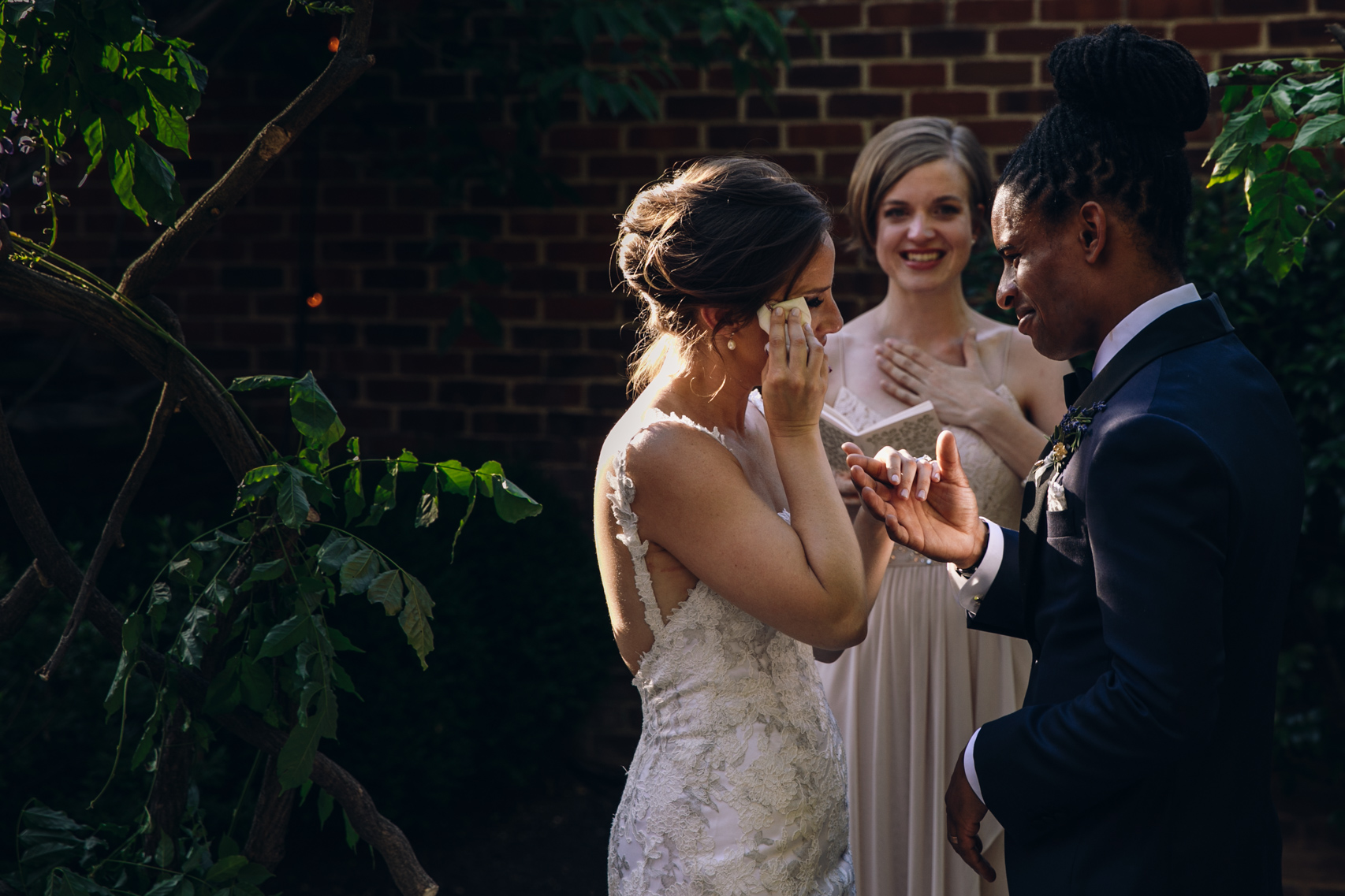 Wedding Ceremony at the Ritz Carlton, Georgetown, Washington DC