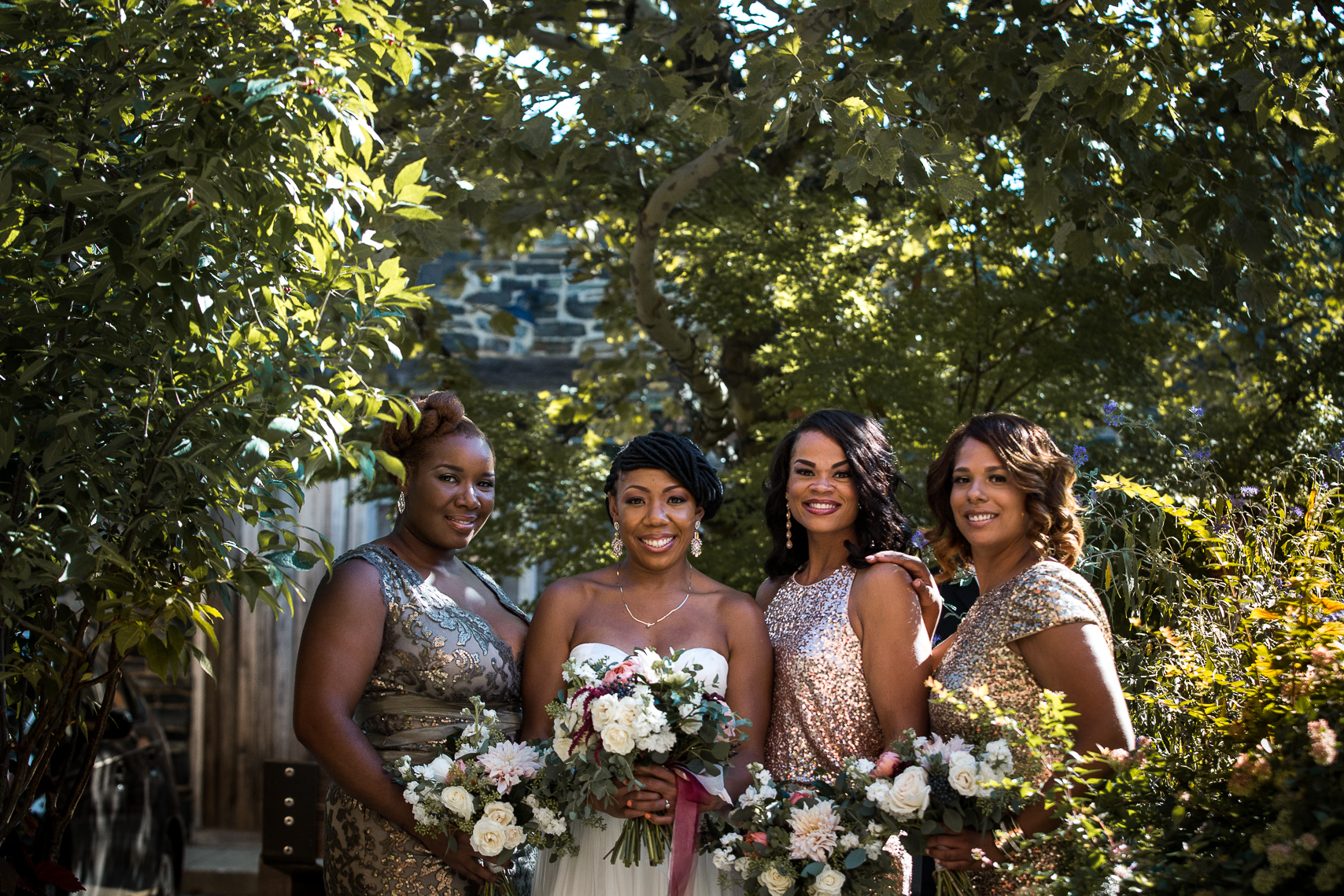 Wedding Bridal Party at Woodberry Kitchen