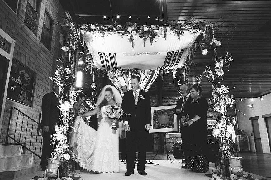 Chuppah at the American Visionary Arts Museum in Baltimore