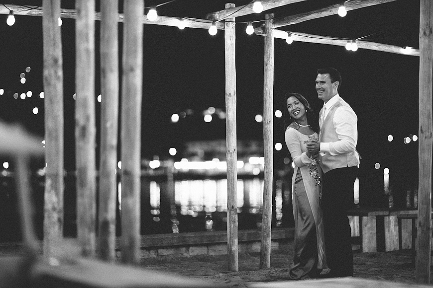 Dancing at Lake Como wedding
