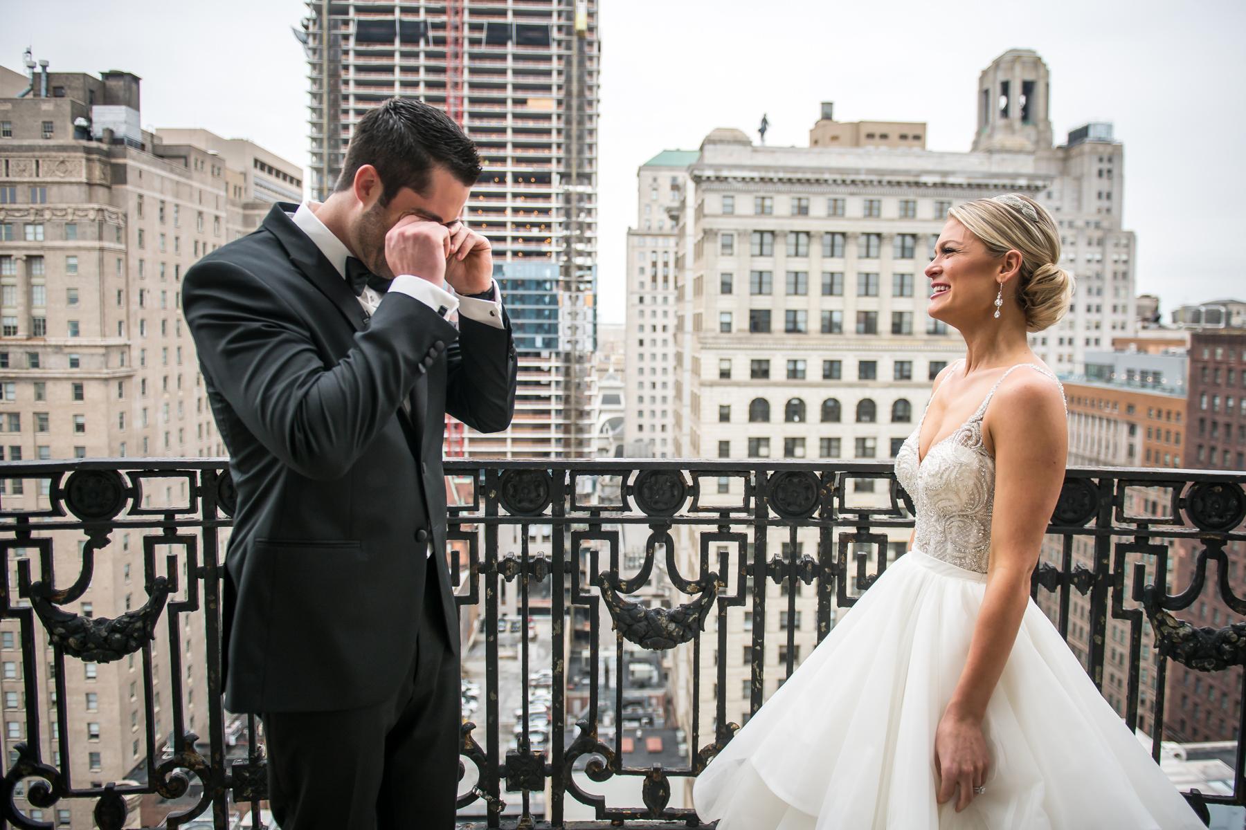 Kelsey and Mike Hyatt at the Bellevue Philadelphia Wedding-25.jpg