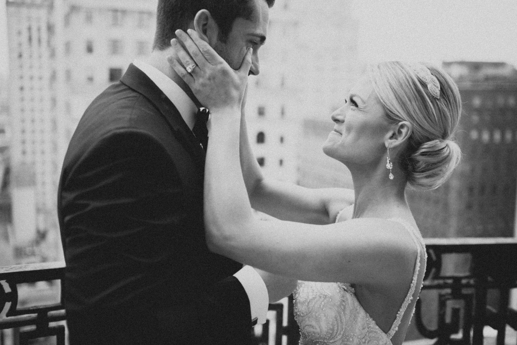 Kelsey and Mike Hyatt at the Bellevue Philadelphia Wedding-26.jpg