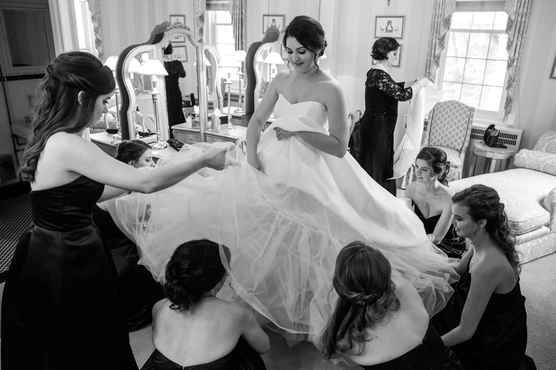 Maria and John at Baltimore County Club Roland Park Wedding Maryland-12.jpg