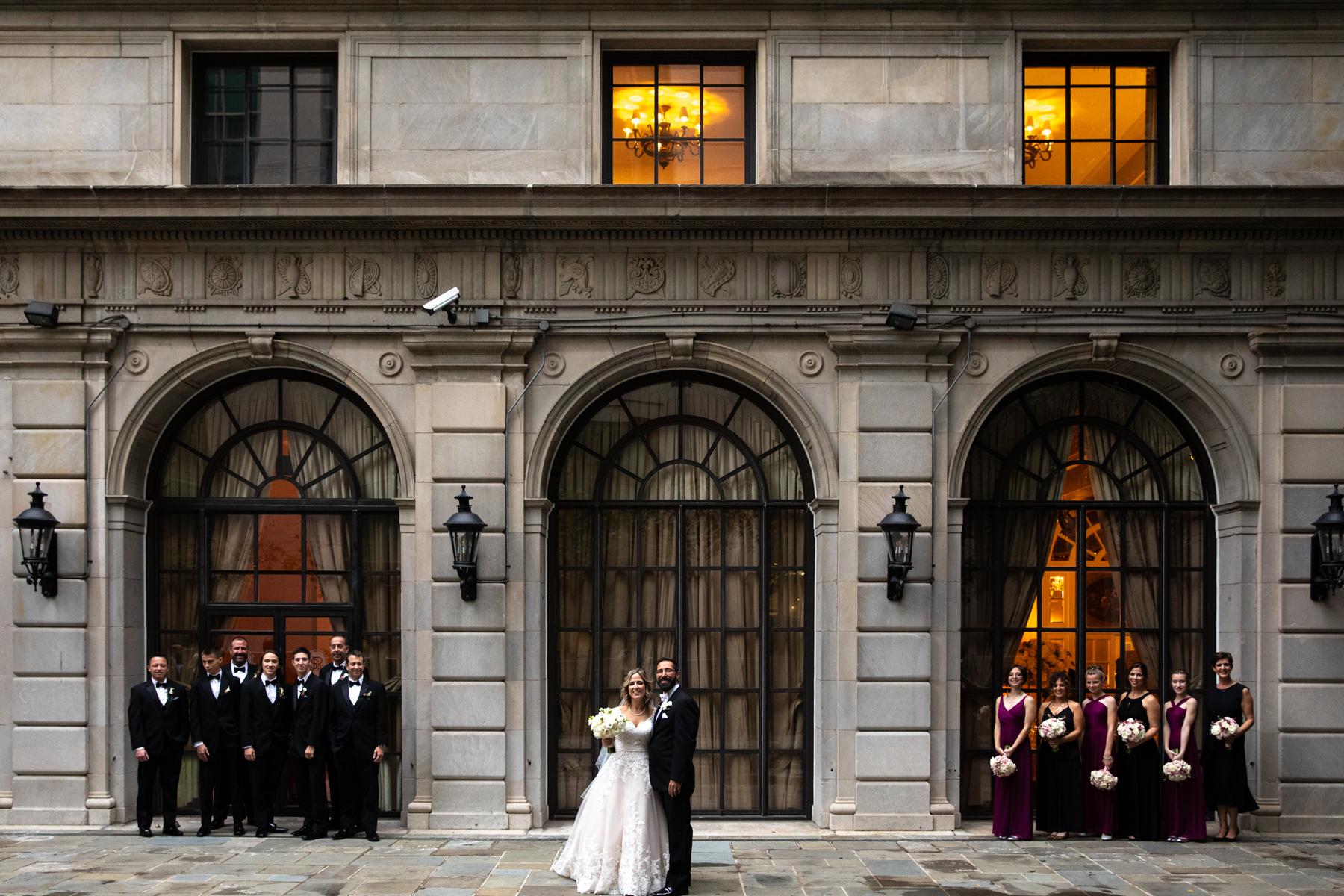 Bridal Party at the St. Regis Washington DC