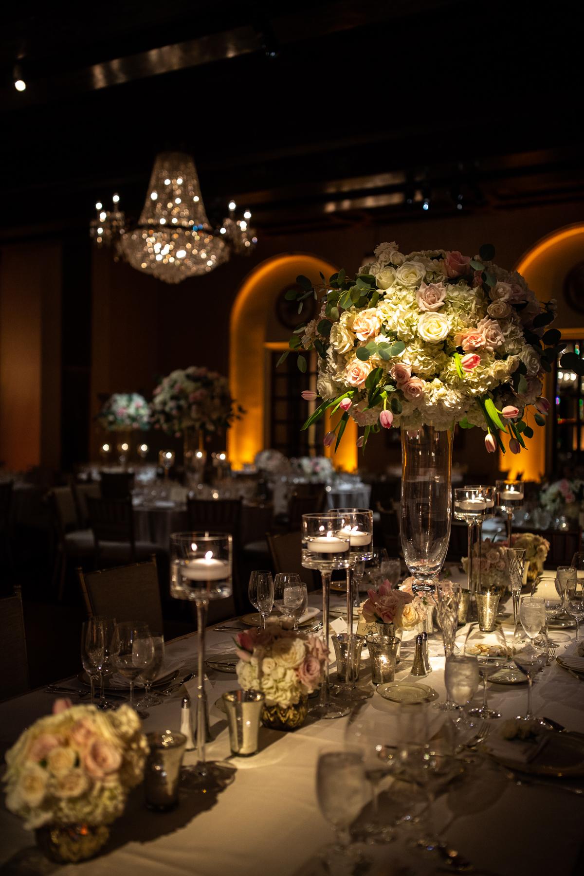Wedding Reception Details St. Regis Hotel Washington DC