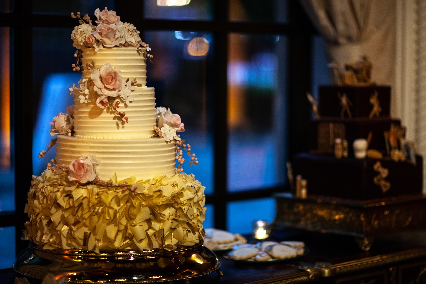 Wedding cake St. Regis Hotel Washington DC