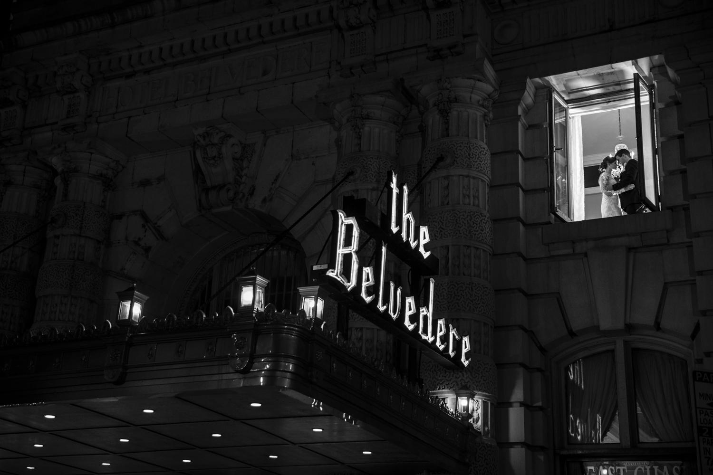 Wedding Photo Belvedere Hotel Baltimore Maryland