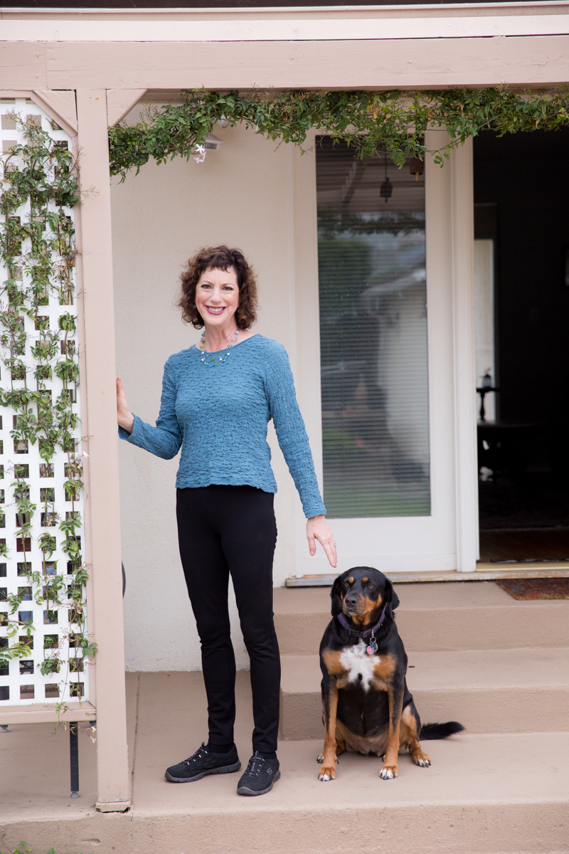 My dog Maggie and Me, by Isabel Lawrence Photography