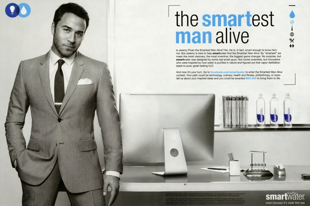 Smartwater/GQ