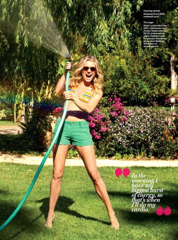 Rebecca Romijn for Health