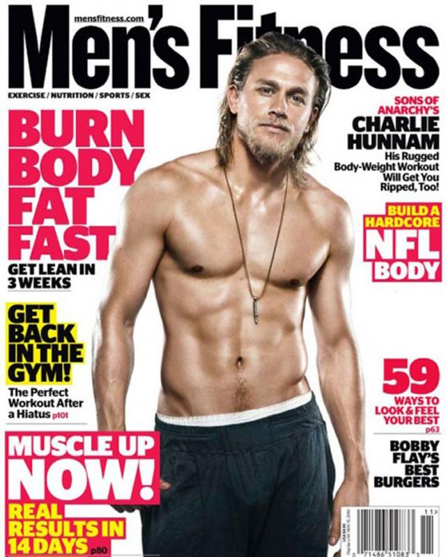 Charlie Hunnam for Men's Fitness