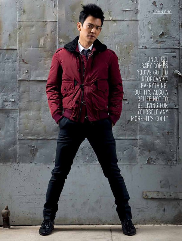 John Cho for August Man