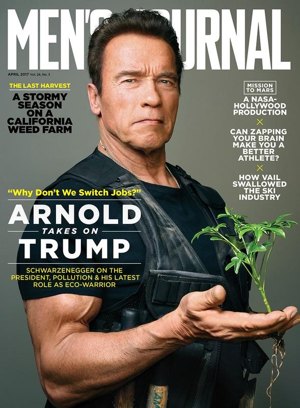 Arnold for Men's Journal