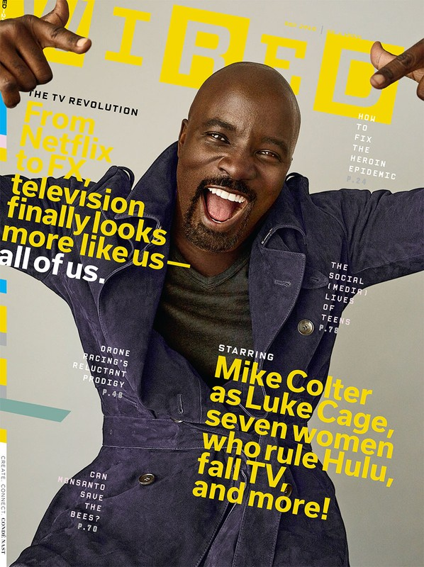 Mike Colter for Wired