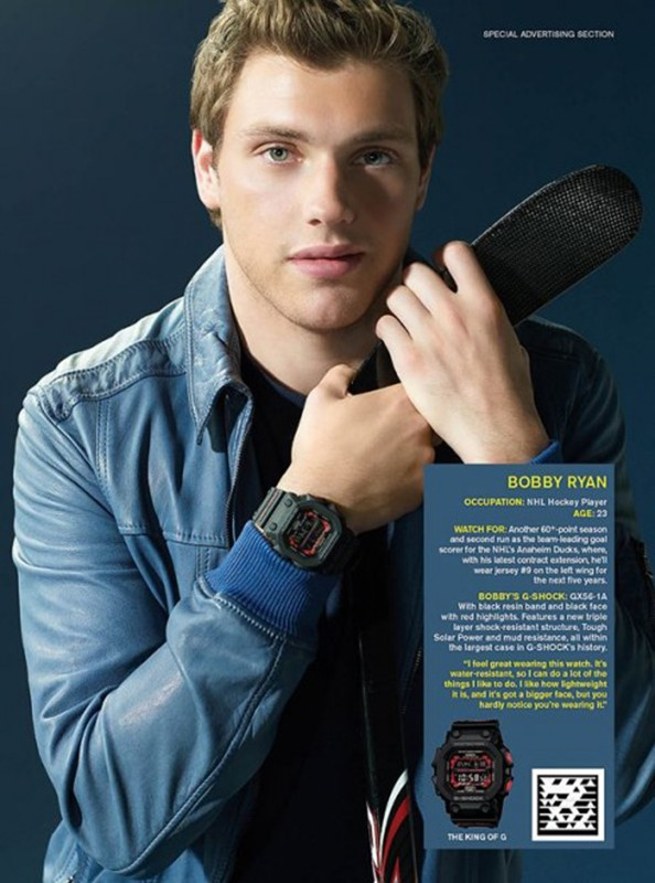G Shock Advertorial for Conde Nast