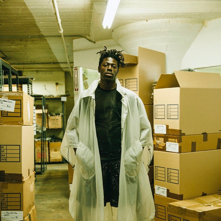 Moses Sumney for Ssense