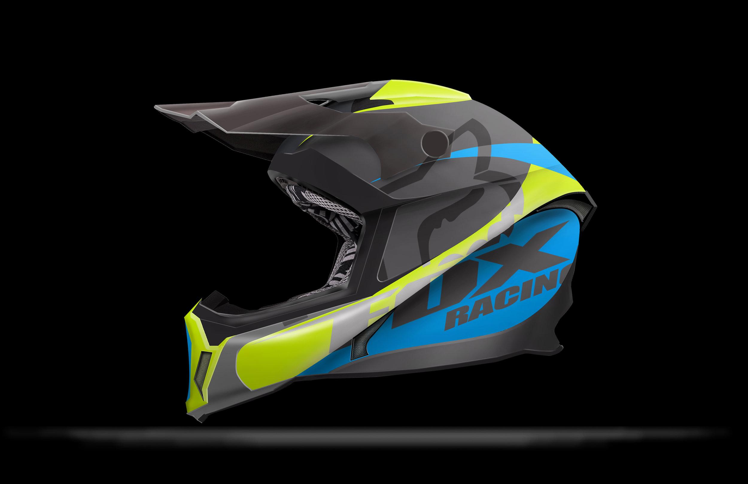 Fox Racing Helmet Jade Bartlett Designs