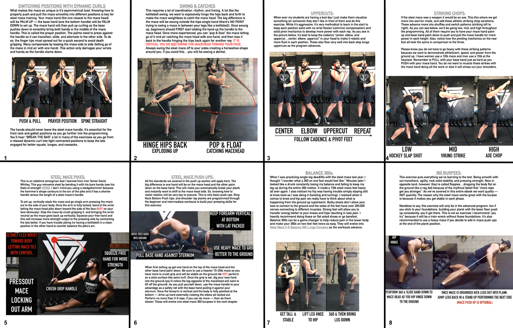 Steel Mace Education 101 for Bodyweight Strength