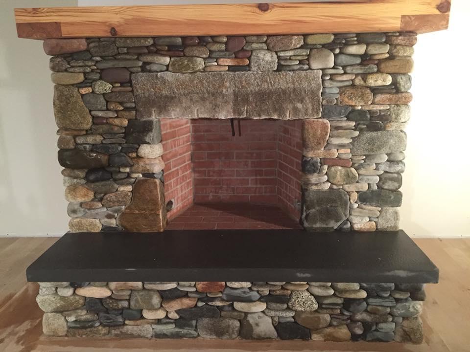 Finished Fireplace