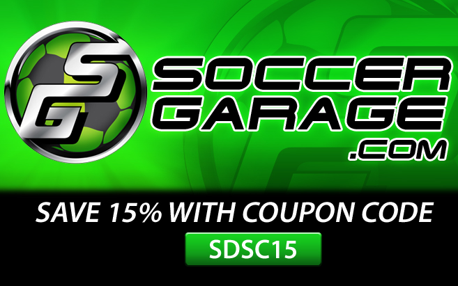 Shop now: at  www.SoccerGarage.com