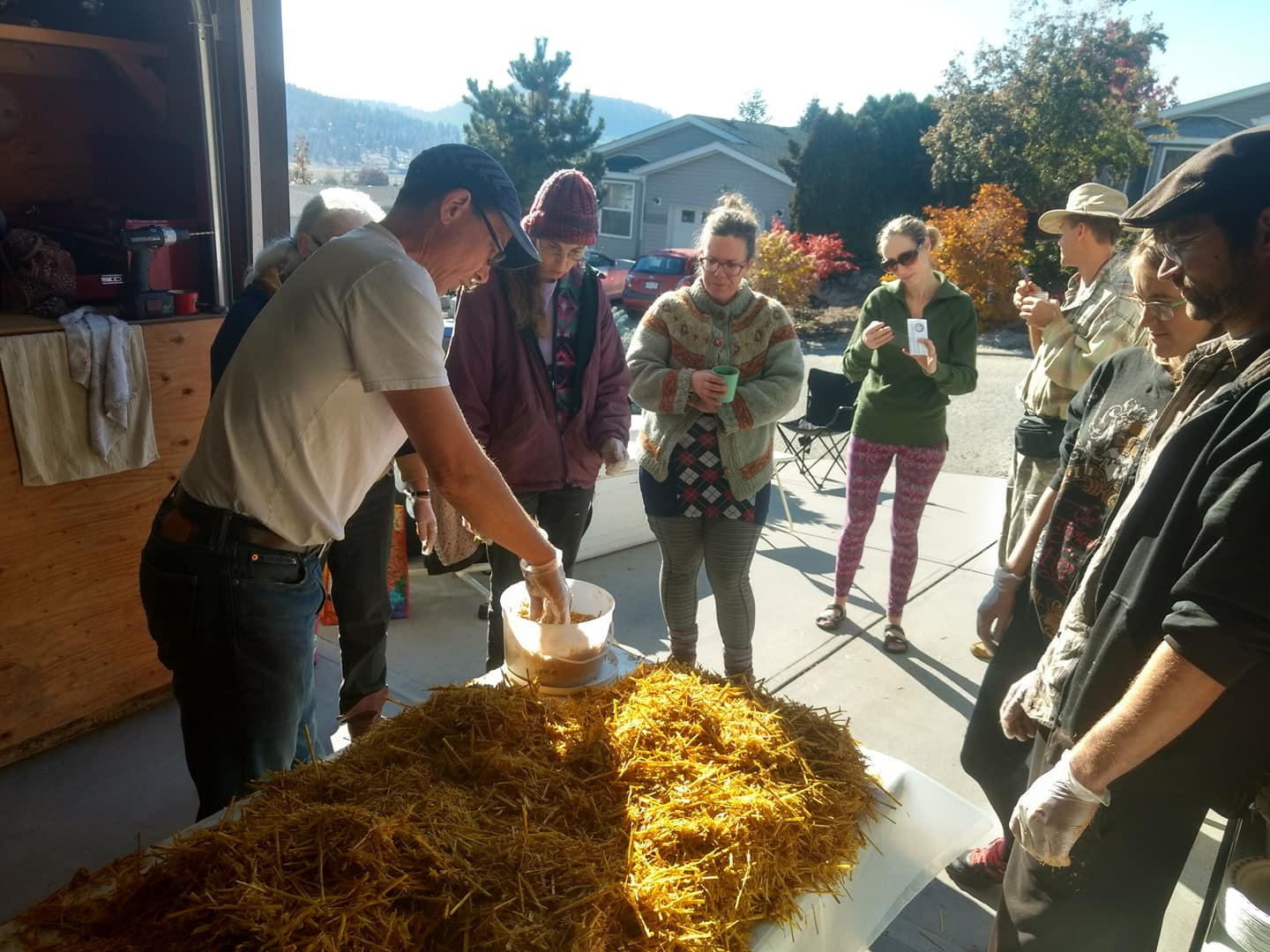 Oyster Mushroom workshop with Permaculture Kelowna