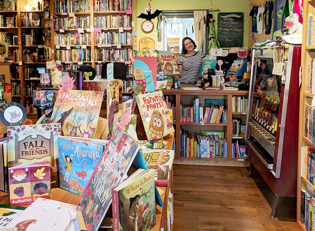 Meet your friendly local bookseller!