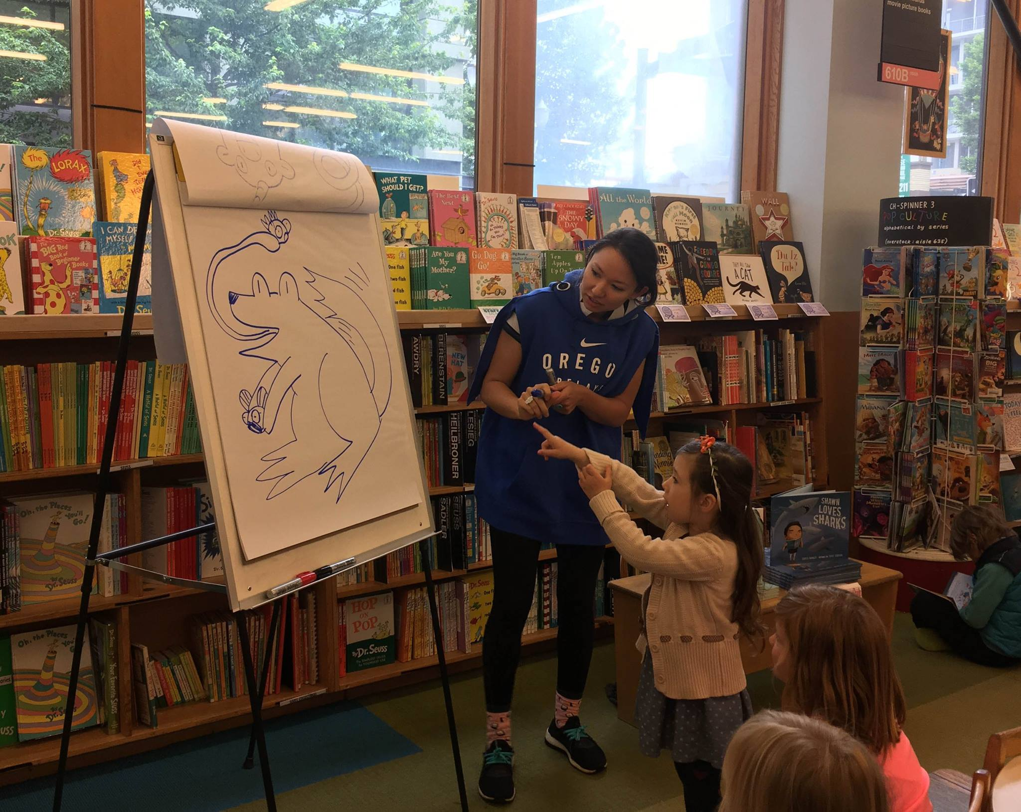 Book Readings are a great way to engage with your audience!