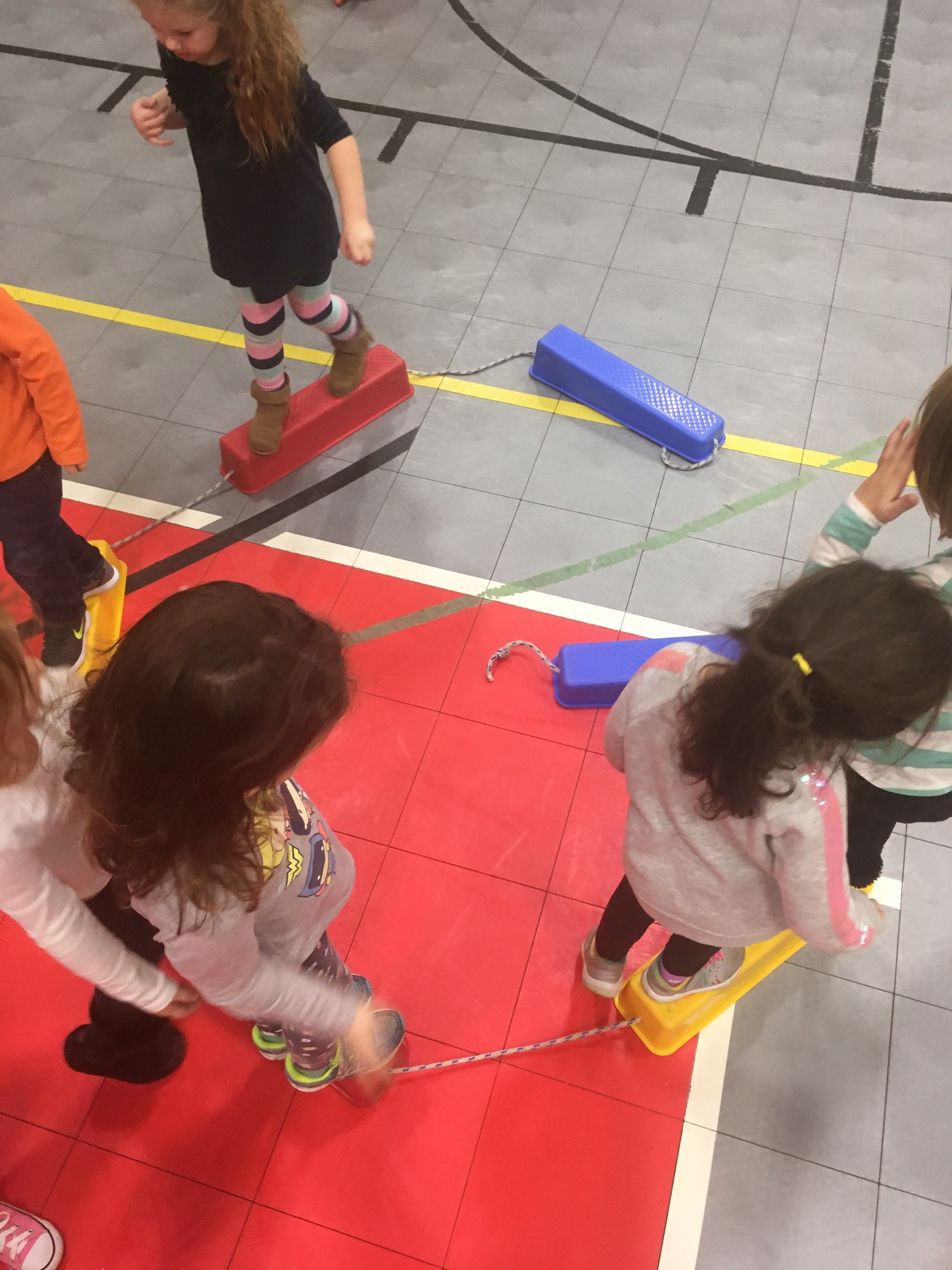 Mrs. Murray's Nursery School - Gym Time
