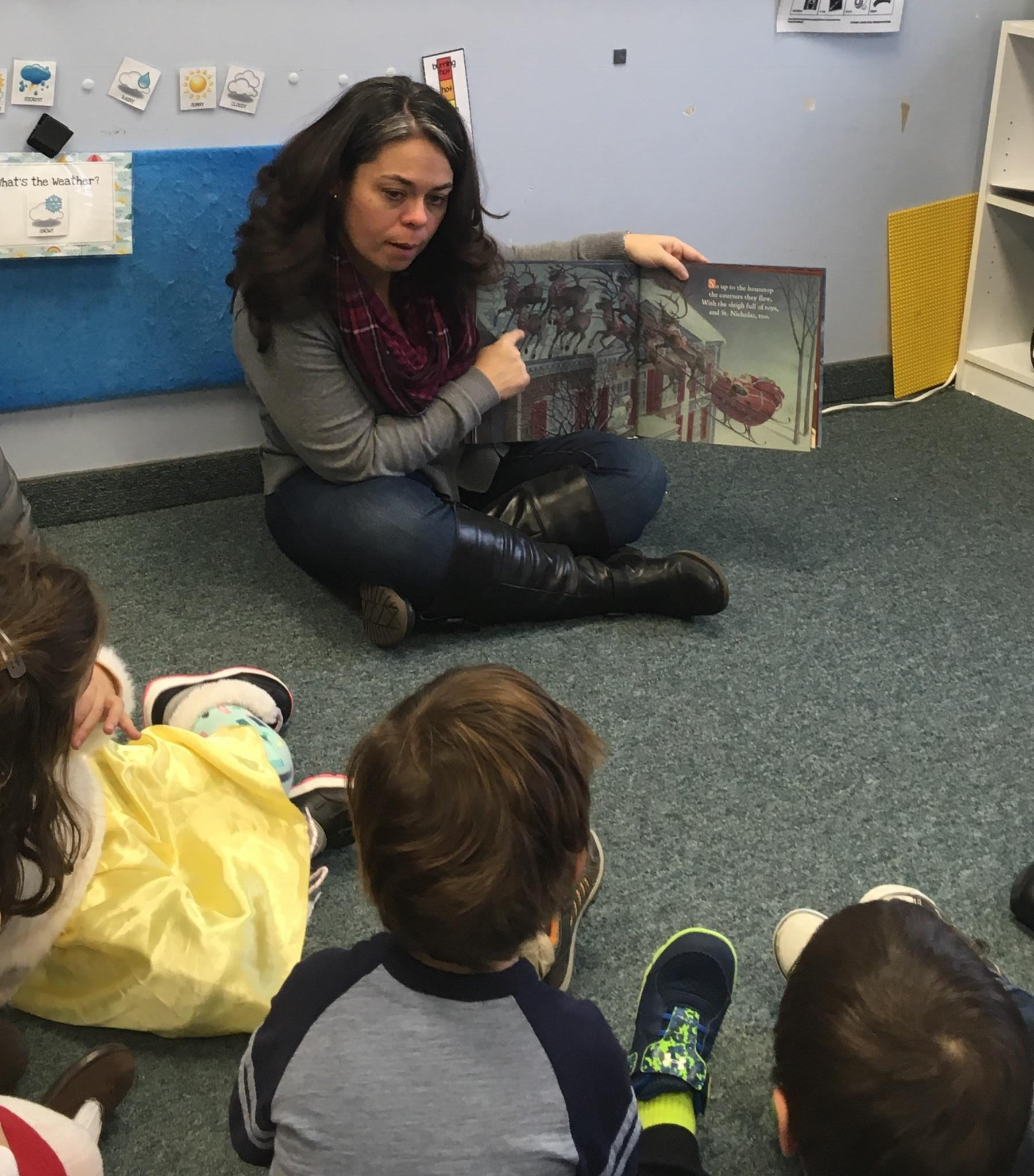 Mrs. Murray's Nursery School - Reading Volunteer