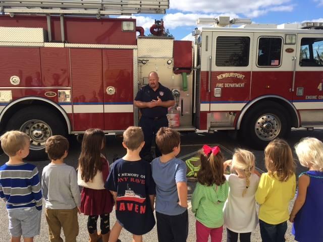 Mrs. Murray's Nursery School - Fire Department Visit