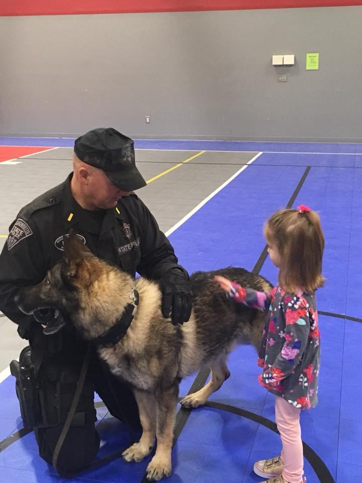 Mrs. Murray's Nursery School - Police Visit