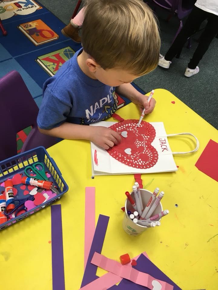Mrs. Murray's Nursery School - Valentine's Day Craft