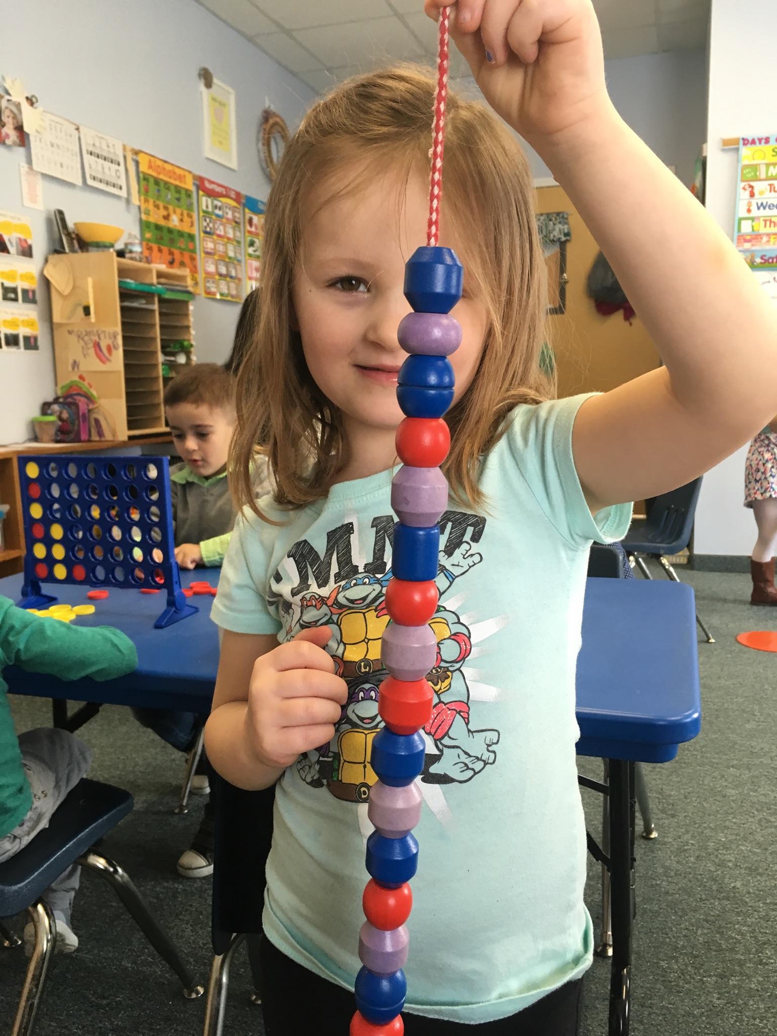 Mrs. Murray's Nursery School - Child Playing