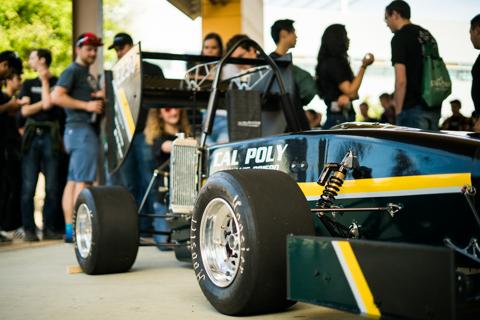 FORMULA SAE - We design and manufacture two Formula-style vehicles: electric and combustion.
