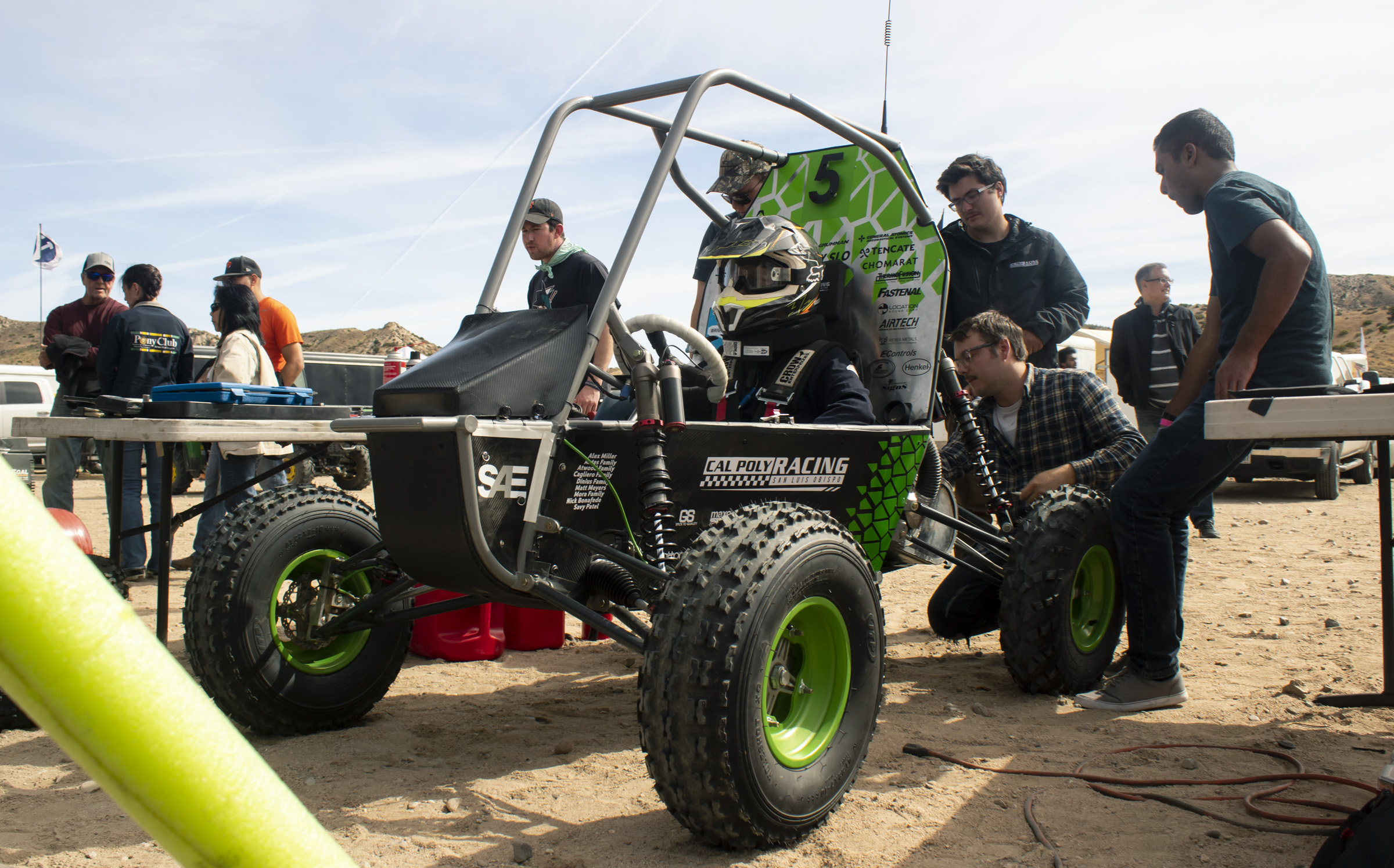 BAJA SAE - Our vehicle is a high performance, off-roading vehicle.