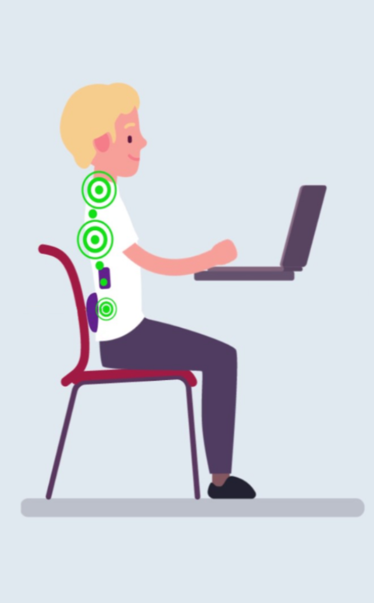 On-Demand When You Need It - Backtastic is on-demand where ever and whenever you need it. Most of us spend the bulk of our day sitting -- in traffic, on the train, in an airplane, at work, at the theater or perhaps a ball game! Let's face it, we sit a lot. And if you have back pain while seated, your back's not healing. Having Backtastic at the ready, provides a healthy environment for your back.
