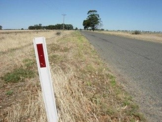 Roadside vegetation can show signs of spray drift